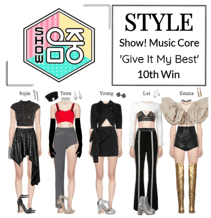 STYLE Show! Music Core 'Give It My Best'