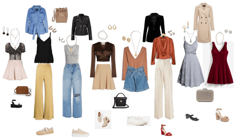 Outfits cuerpo triangulo invertido