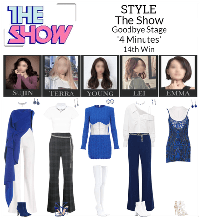 STYLE The Show '4 Minutes' Goodbye Stage