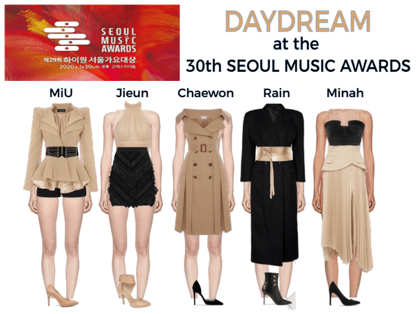 DAYDREAM- 30th Seoul Music Awards Redcarpet