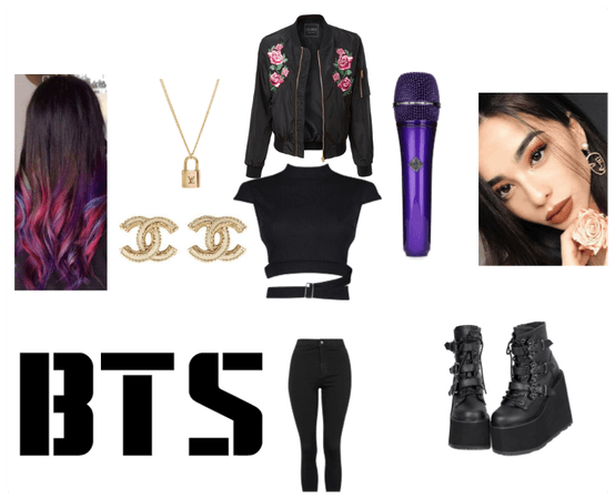 BTS 5th Muster Ddaeng Inspired Outfit female ver