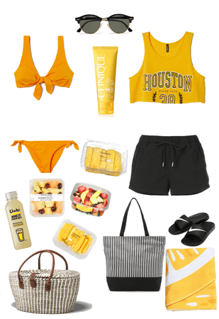 day at the beach+picnic