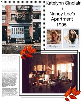 LOCATION: Katelynn Sinclair + Nancy Lee's Apartment in Seattle Washington
