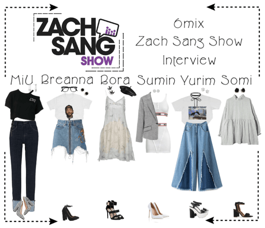 《6mix》Zach Sang Show Interview