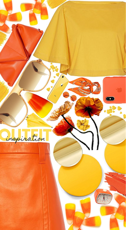💛🧡Candy corn style🧡💛
