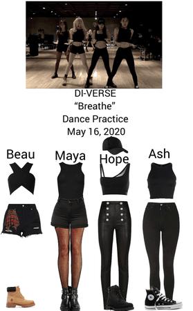 "DI-VERSE ""Breathe"" Dance Practice"