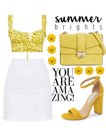Yellow Bright Summer