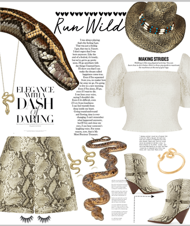 snake ad lace