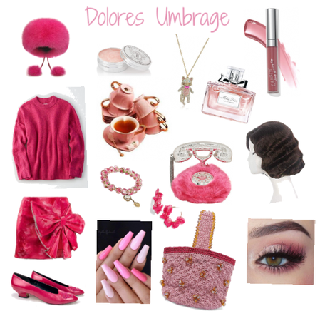 Dolores Umbrage from Harry Potter.