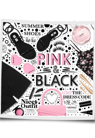 PINK & BLACK 💖🖤