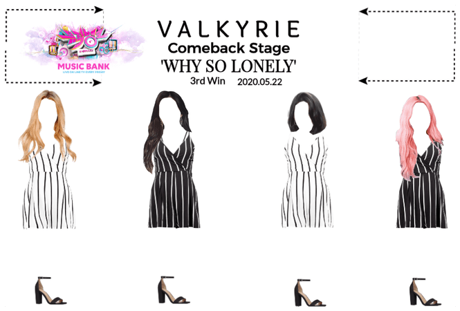 Valkyrie Music Bank Comeback Stage
