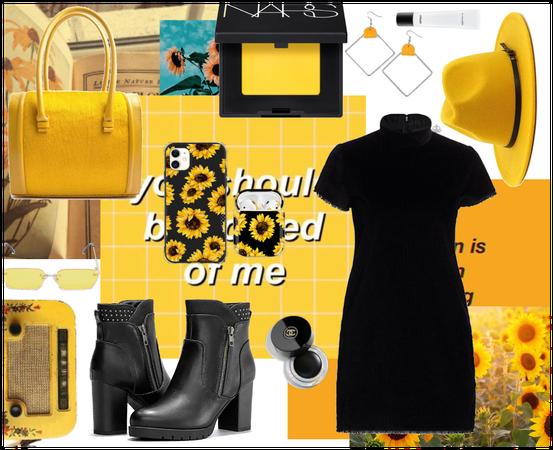 yellow + black.. #yellow #black