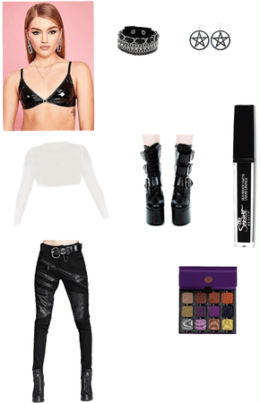 punk outfit