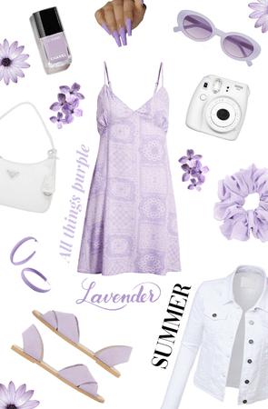Purple Summer (Lavender) Fit