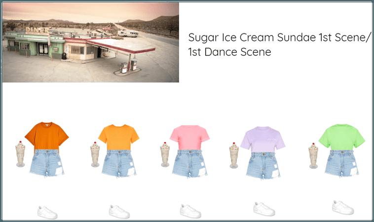Sugar Ice Cream Sundae 1st Scene/1st Dance Scene