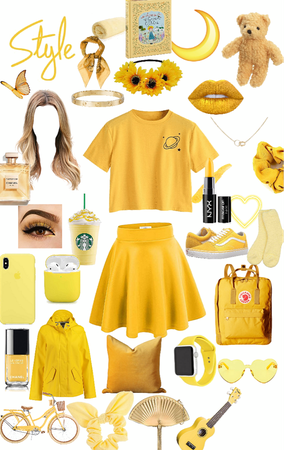yellow aesthetic💛💛💛