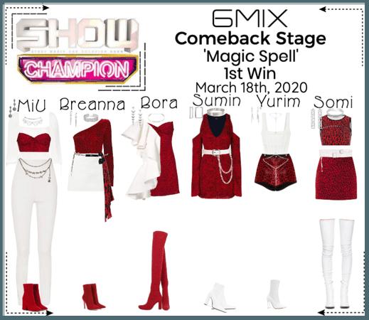 《6mix》Show Champion Comeback Stage