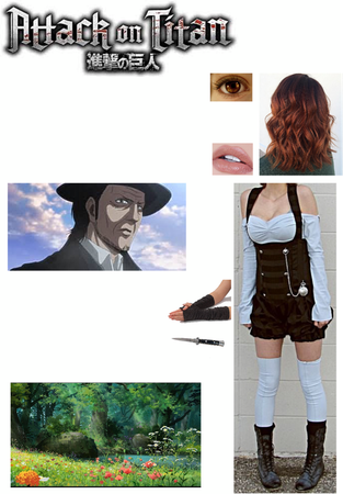 "Attack on Titan OC: Adrianna ""Adri"" Redferne (33/Season 2 OVA)"