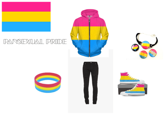 Pansexual Pride Outfit