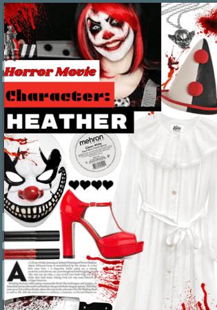 Horror movie character: Heather