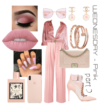 business meetings (Monochromatic outfit - PINK prt
