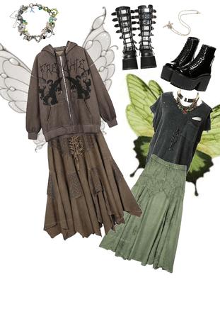grunge-fairycore thing