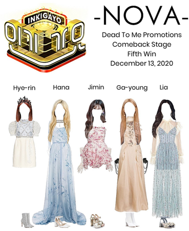 -NOVA- DEAD TO ME | Inkigayo Stage