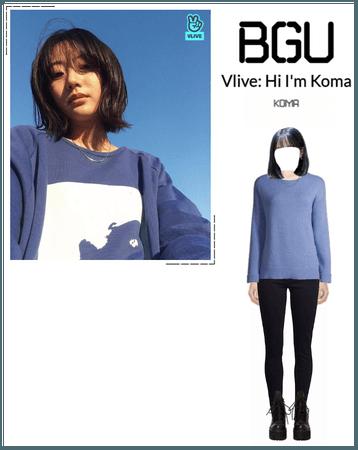 BGU Vlive: Hi I'm Koma