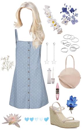 simple summer dress 👗