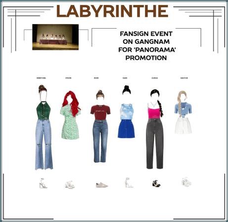 LABYRINTHE fansign event on gangnam
