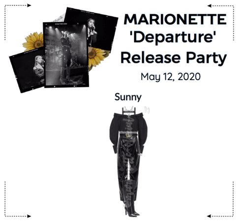 MARIONETTE (마리오네트) 'Departure' Release Party
