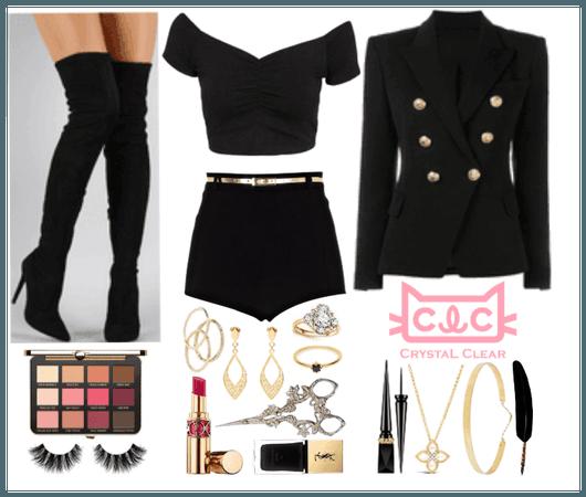 CLC: Black Dress MV Inspired
