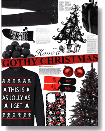 have a merry gothic christmas! 🖤