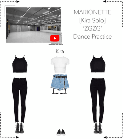 MARIONETTE (마리오네트) [KIRA-SOLO] 'ZGZG' Dance Practice