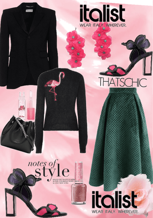 Pink mood for Italist