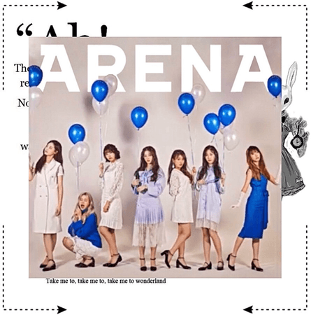 MARIONETTE (마리오네트) ARENA Magazine Photoshoot
