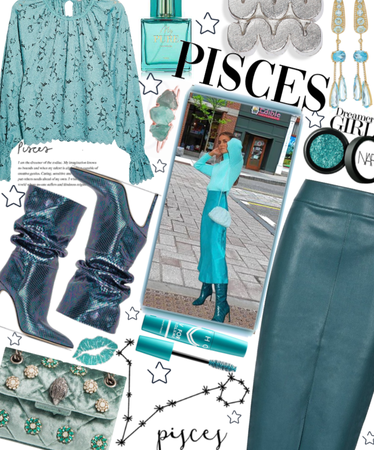 Teal Pisces
