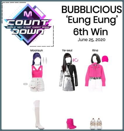 BUBBLICIOUS (신기한) 'Eung Eung' 6th Win