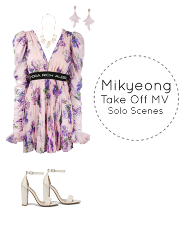 Mikyeong's Take Off MV Solo Scenes