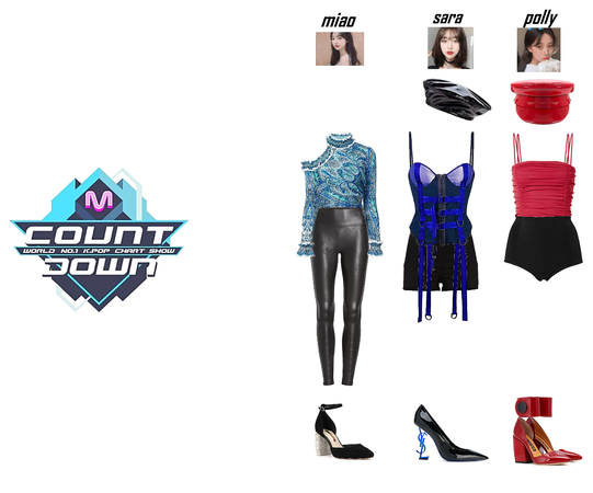 MCOUNTDOWN Polly, Sara and Miao introduce GOT7 'Calling My Name'