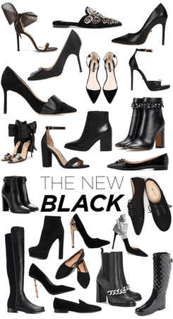 the new black : heel edition