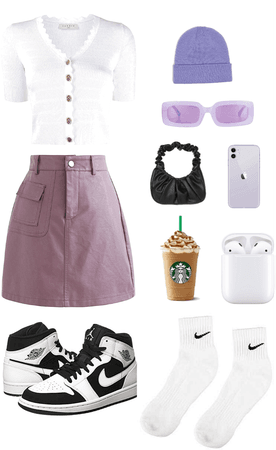 purple girll