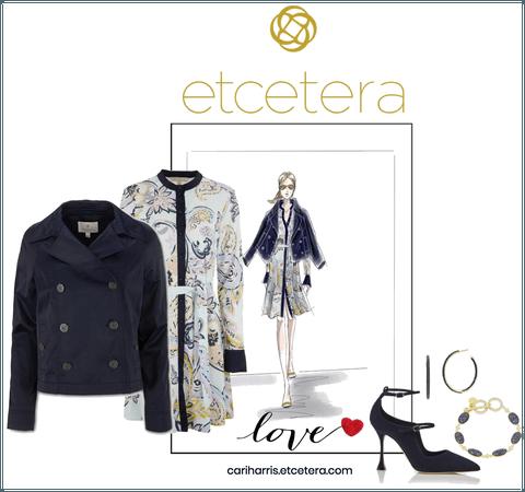 ETC Spring 2021: Candice Peacoat, Azalea Dress