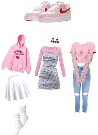 Nike AF1 Love Letter Outfits