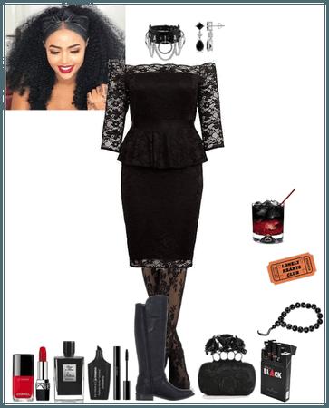 black club dress (Aoife)