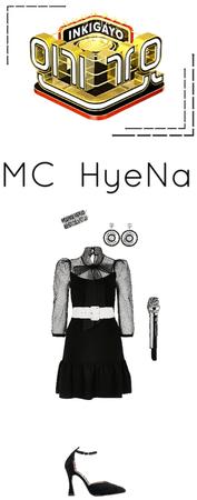 Inkigayo MC IDolls' HyeNa