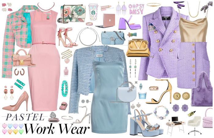 Pastel Office Style