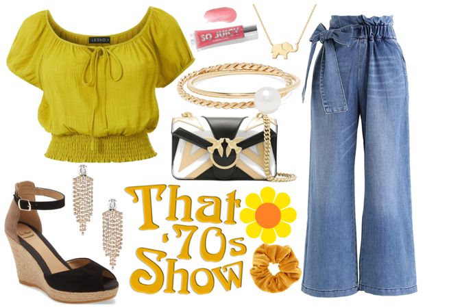 Glam 70s inspired