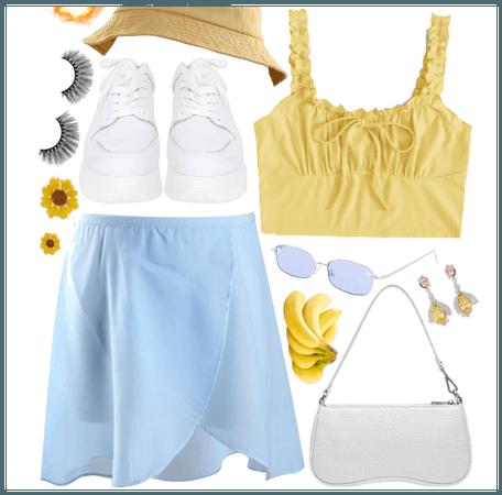 Summer Beach Bonfire Outfit