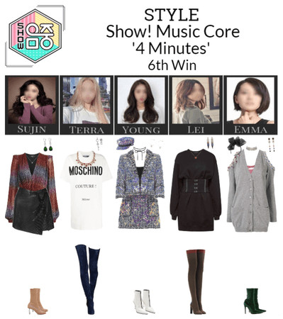 STYLE Show! Music Core '4 Minutes'